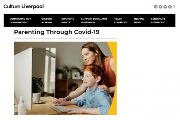 Culture Liverpool's Parenting Through Covid Blog