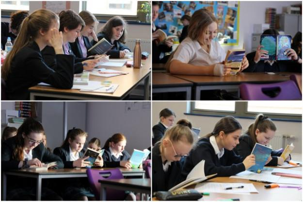 St Julie's takes part in the Liverpool Readathon