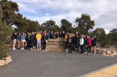 Students Follow the Gold Rush in the USA!